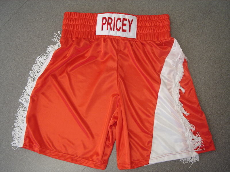 made to order boxing shorts