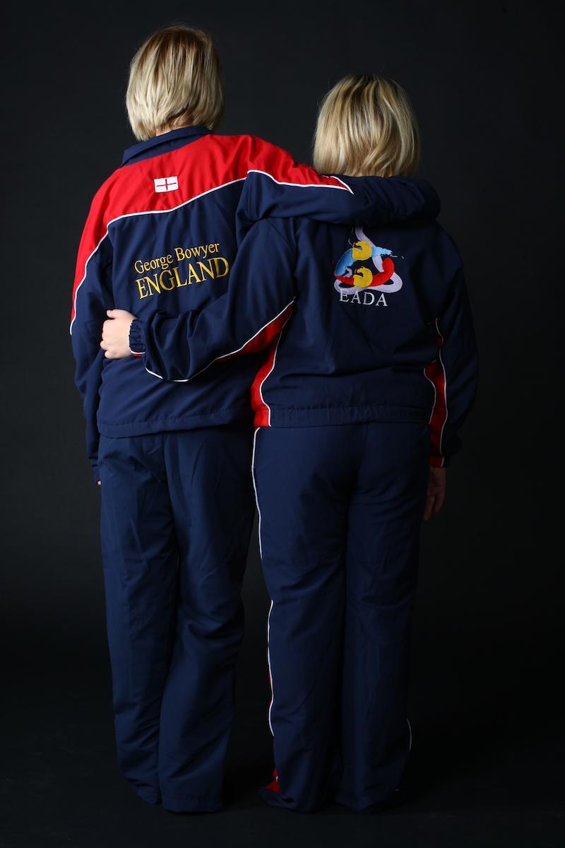 England team tracksuits