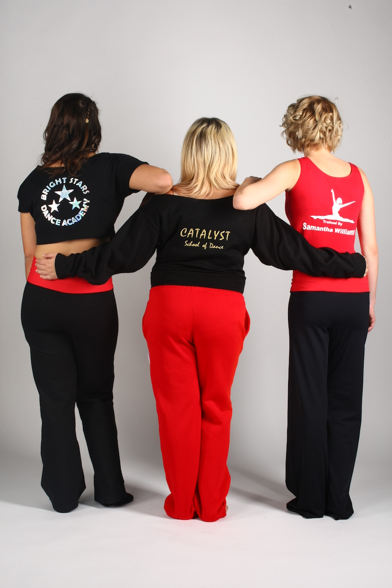 personalised made to order dance wear
