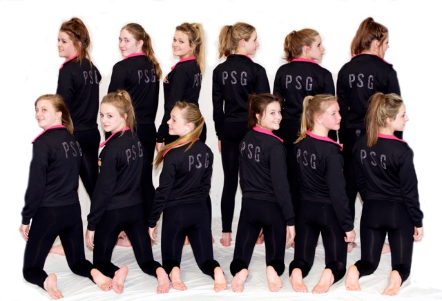 PSG dance club tracksuits