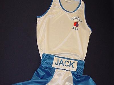 boxing shorts & vest
