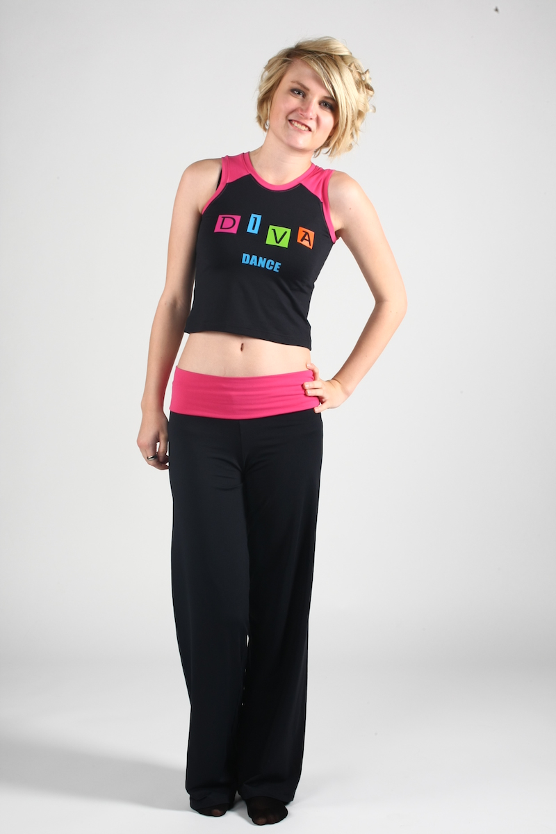 made to order dance wear with Diva Dance logo
